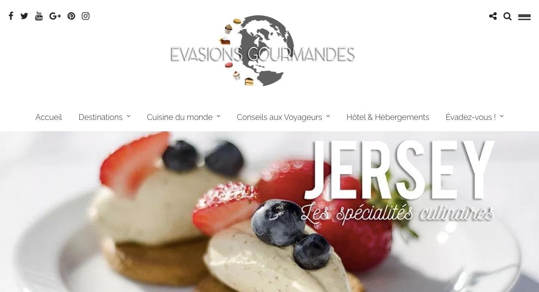 Evasions Gourmandes à Jersey