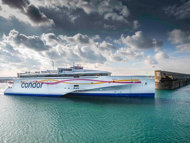 Condor Ferries: escapade à Jersey