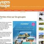 Voyages & groupe: Condor Ferries et les groupes