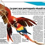 Le Parisien: Parrot World réussit son envol