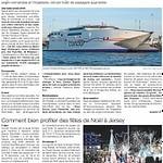 Ouest France: belle mer pour Condor Ferries