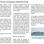 Le Télégramme : Condor Ferries sans plastique à bord